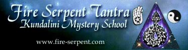 Fire serpent Tantra banner.